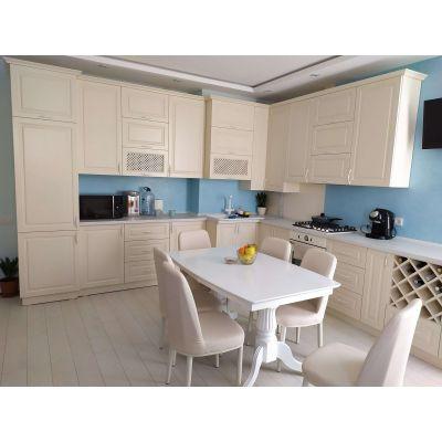 Bucatarie moderna, mat bej Главная на заказ по индивидуальному дизайну доступная цена, современная мебель, в кредит, трансфер...