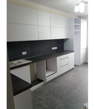 Bucătărie alba Acasa la comanda design individual pret accesibil, livrare , credit , transfer, mobila moderna