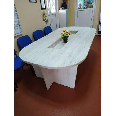 круглый офисный стол Главная на заказ по индивидуальному дизайну доступная цена, современная мебель, в кредит, трансфер, в ра...
