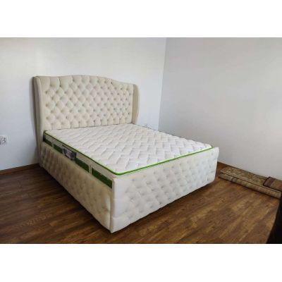 бежевая спальня кровать 2021 Главная на заказ по индивидуальному дизайну доступная цена, современная мебель, в кредит, трансф...