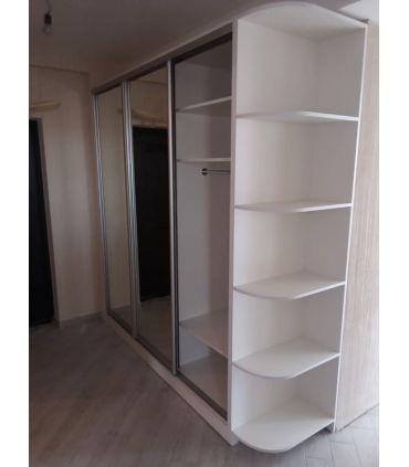 шкаф с зеркалами и стайлинг - белый Главная на заказ по индивидуальному дизайну доступная цена, современная мебель, в кредит,...