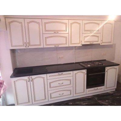 классическая кухня 2021 - белый Главная на заказ по индивидуальному дизайну доступная цена, современная мебель, в кредит, тра...