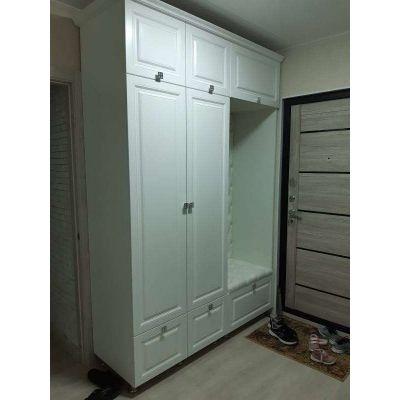белый шкаф 2 двери Главная на заказ по индивидуальному дизайну доступная цена, современная мебель, в кредит, трансфер, в расс...