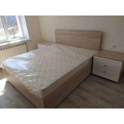 кровать для спальни с матрасом на заказ Главная на заказ по индивидуальному дизайну доступная цена, современная мебель, в кре...