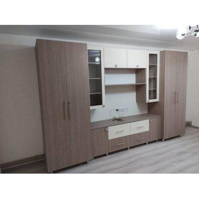 Гардеробная мебель для гостиной Главная на заказ по индивидуальному дизайну доступная цена, современная мебель, в кредит, тра...