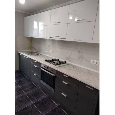кухня на заказ - черный цвет Главная на заказ по индивидуальному дизайну доступная цена, современная мебель, в кредит, трансф...
