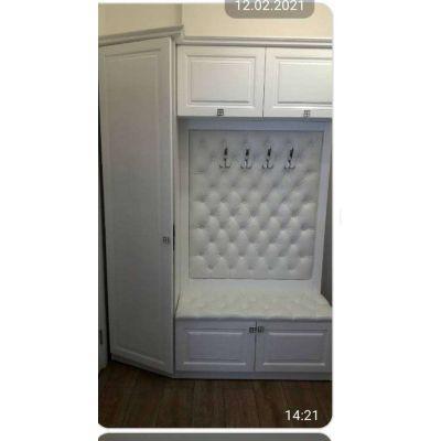 вешалка гардеробная командирского зала - белый с серым Главная на заказ по индивидуальному дизайну доступная цена, современна...