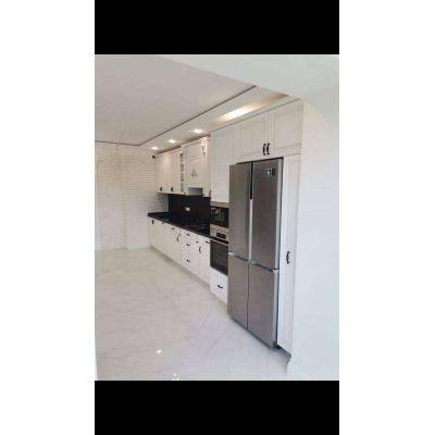 современная кухня - встроенный холодильник Главная на заказ по индивидуальному дизайну доступная цена, современная мебель, в ...