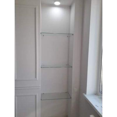 современная кухня - глянцево-белый с подсветкой Главная на заказ по индивидуальному дизайну доступная цена, современная мебел...